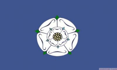 YORKSHIRE (OLD) - 8 X 5 FLAG